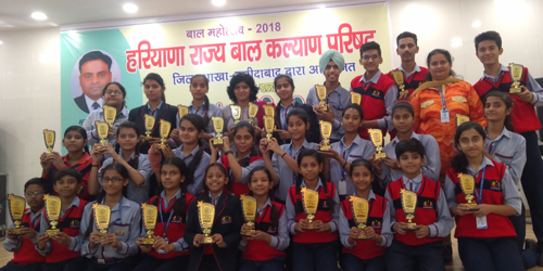 District Level Competitions in Bal – Utsav- 2018