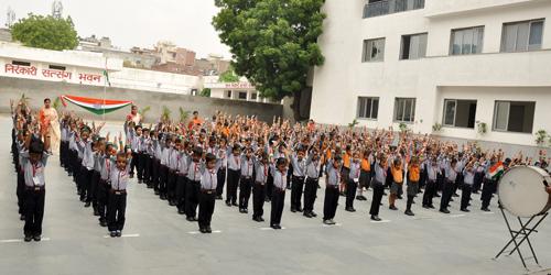 SNPS Govindpuri Celebrated 72nd Independence Day