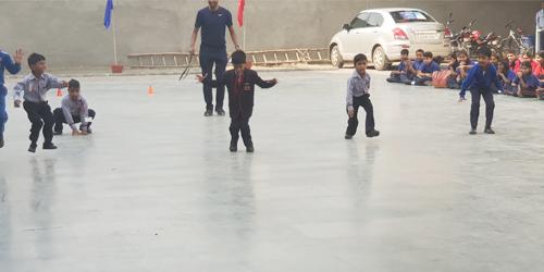Recreational Games on Children's Day