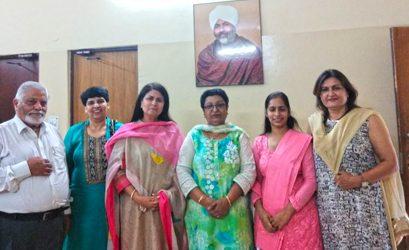 Farewell Ceremony of Ms. Madhu Minocha and Mr. Mangal