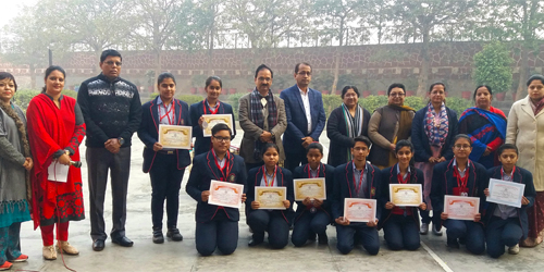 THE FELICITATION CEREMONY BY ANUVRAT NYAS INSTITUTE