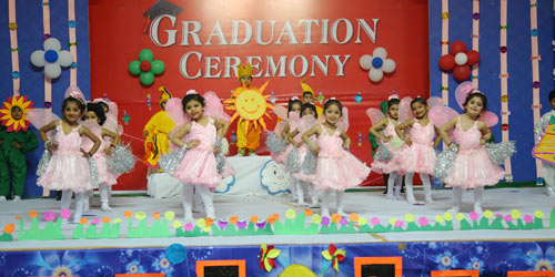 The Graduation Ceremony (Preprimary) – 2017-18