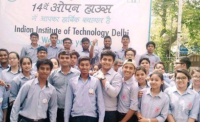 Visit to IIT Delhi